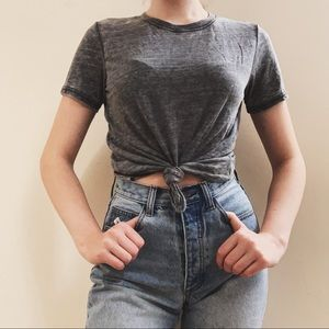 urban outfitters gray tee